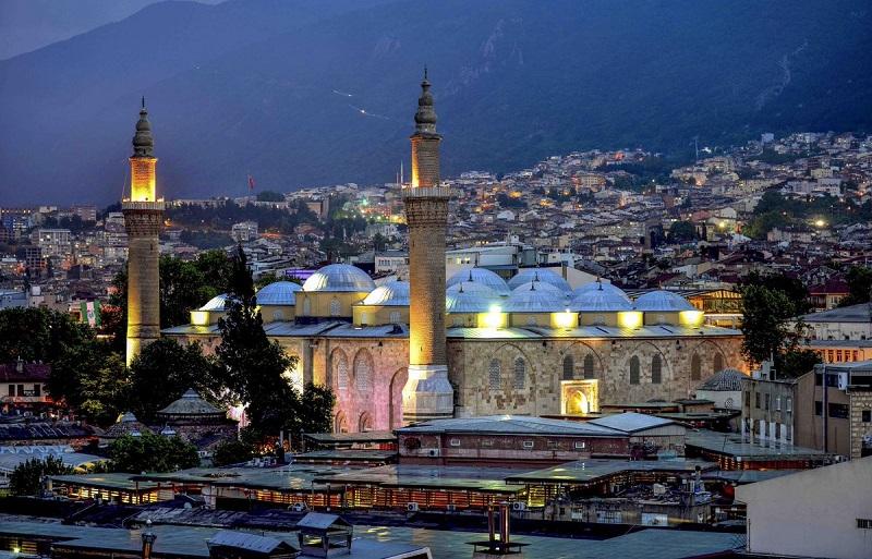 Мусульманский храм Улу-Джами
