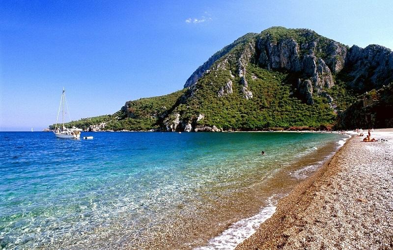 пляж чирали турция