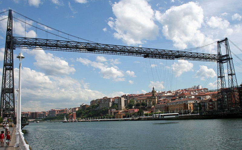 Бискайский мост бильбао