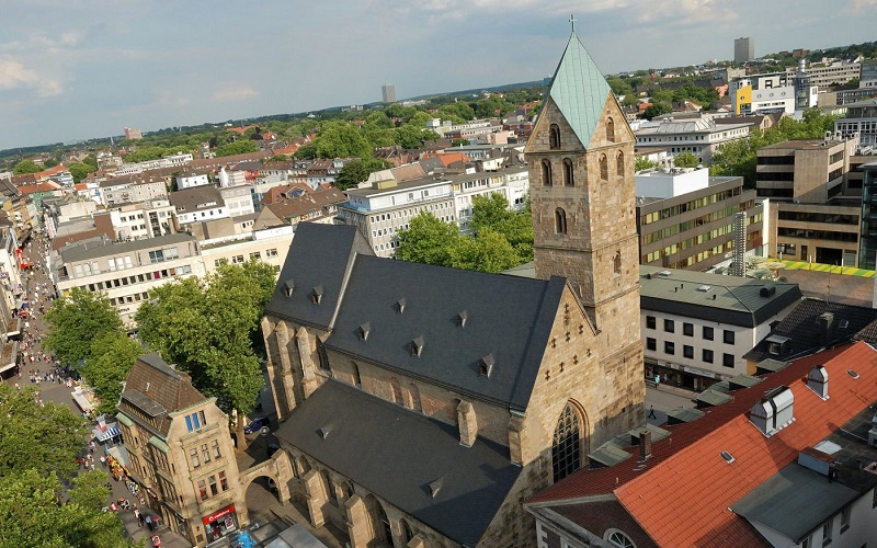 Церковь Святой Марии дортмунд