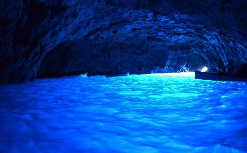 Голубой грот остров капри
