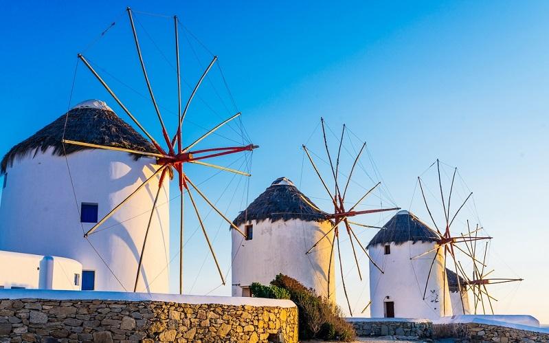 Ветряные мельницы Миконоса
