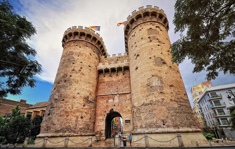 Ворота Торрес-де-Куарт валенсия
