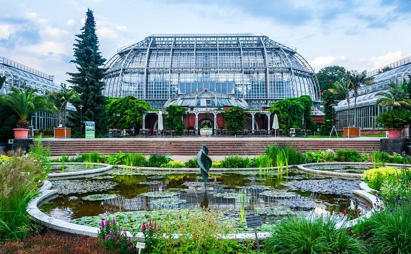 ботанический сад берлин