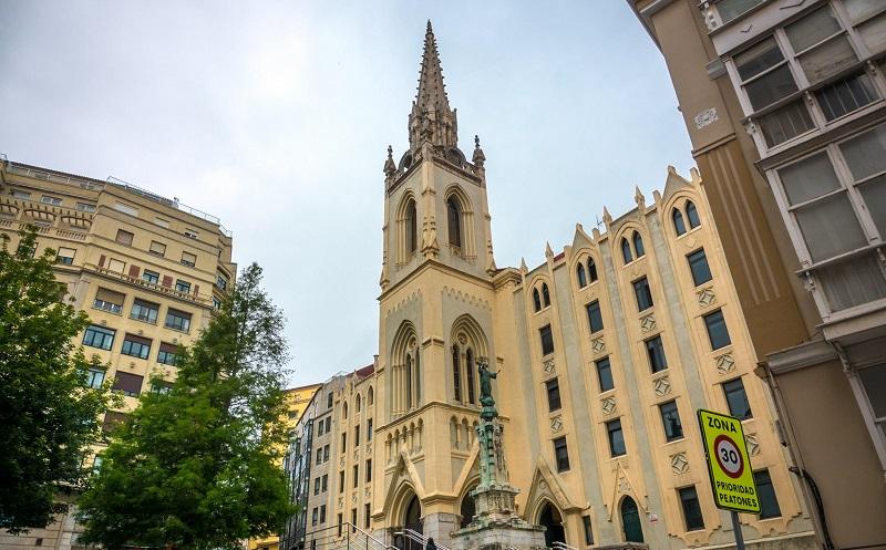 церковь святейшего сердца иисуса сантандер