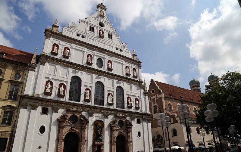 церковь святого михаила в мюнхене
