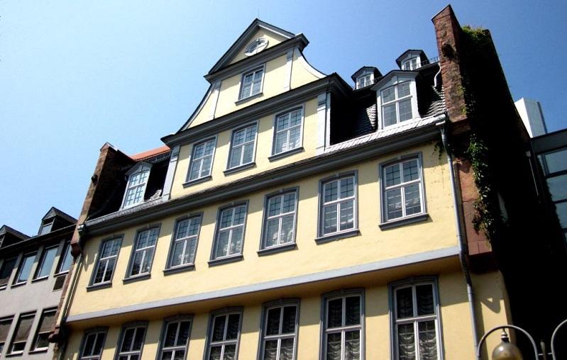дом гете франкфурт на майне