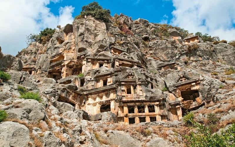 древний город мира турции