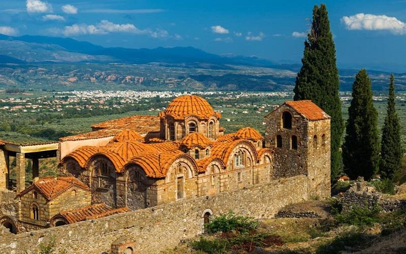древний город мистра