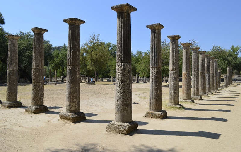 древняя олимпия полуостров пелопоннес