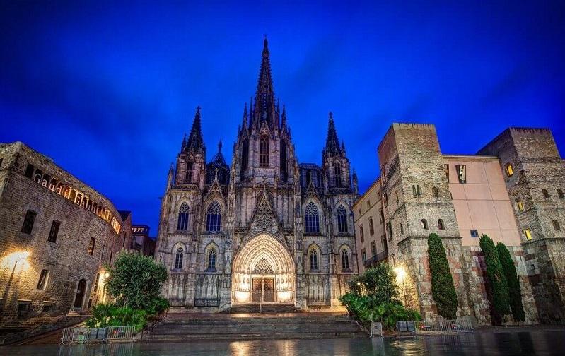 кафедральный собор святого креста и святой евлалии