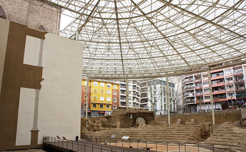 музей «театро де цезараугуста» сарагоса