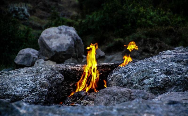 огненная гора янарташ кемер