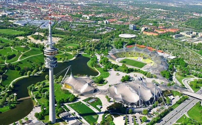 олимпийский парк мюнхен