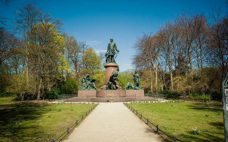 парк большой тиргартен в берлине
