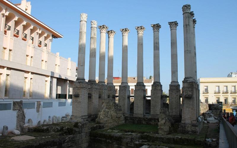 римский храм кордова