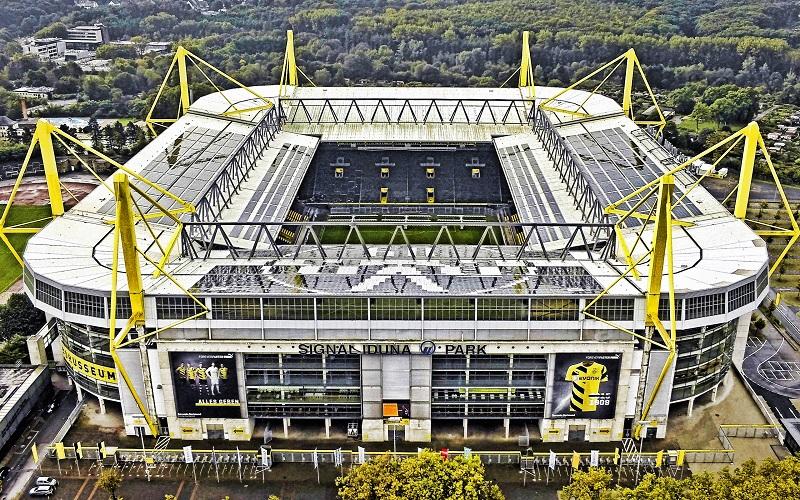 стадион сигнал идуна парк дортмунд