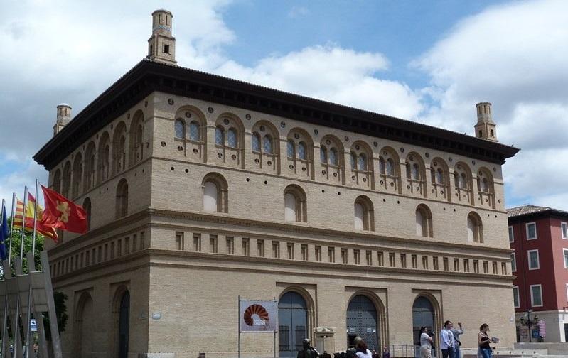 здание биржи сарагоса