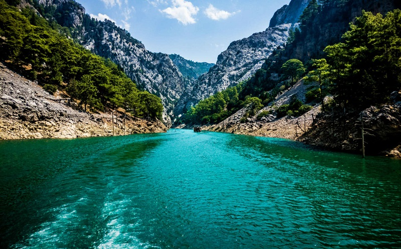 зелёный каньон турция