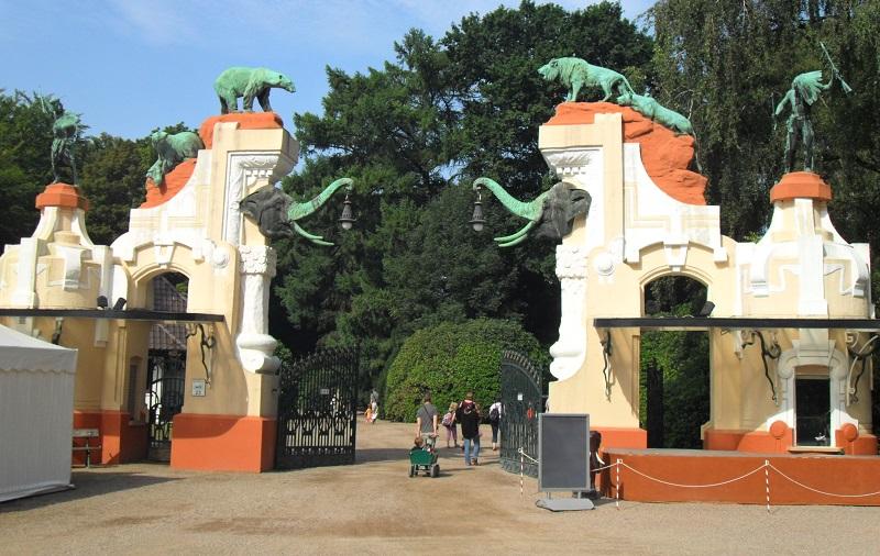 зоопарк хагенбека в гамбурге