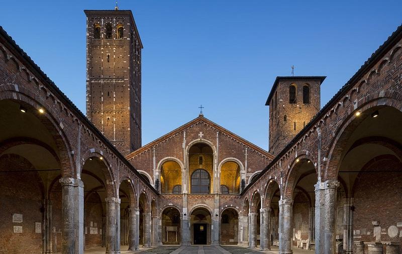 базилика святого амвросия милан