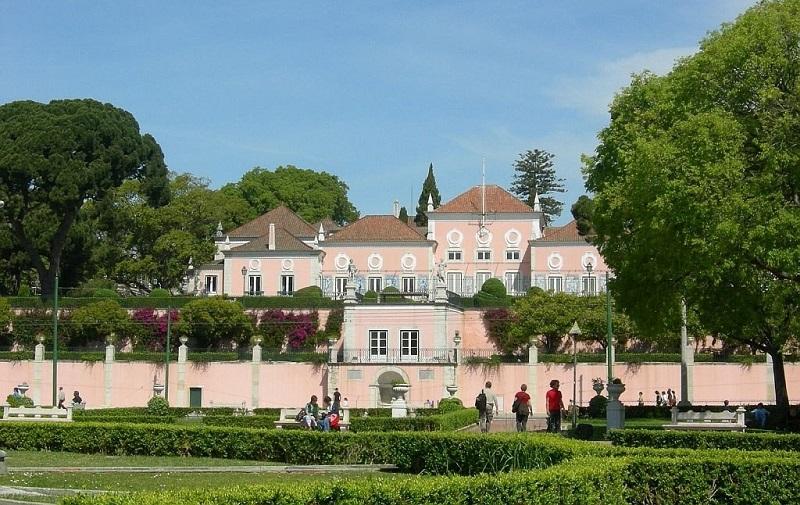 беленский дворец в лиссабоне