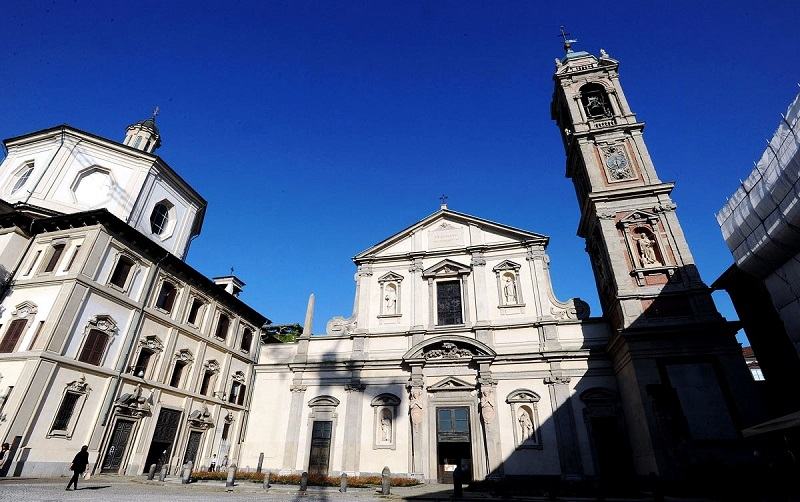 церковь сан бернардино алле осса в милане
