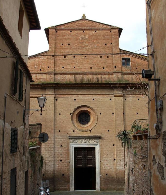 церковь санта-мария в portico a fontegiusta