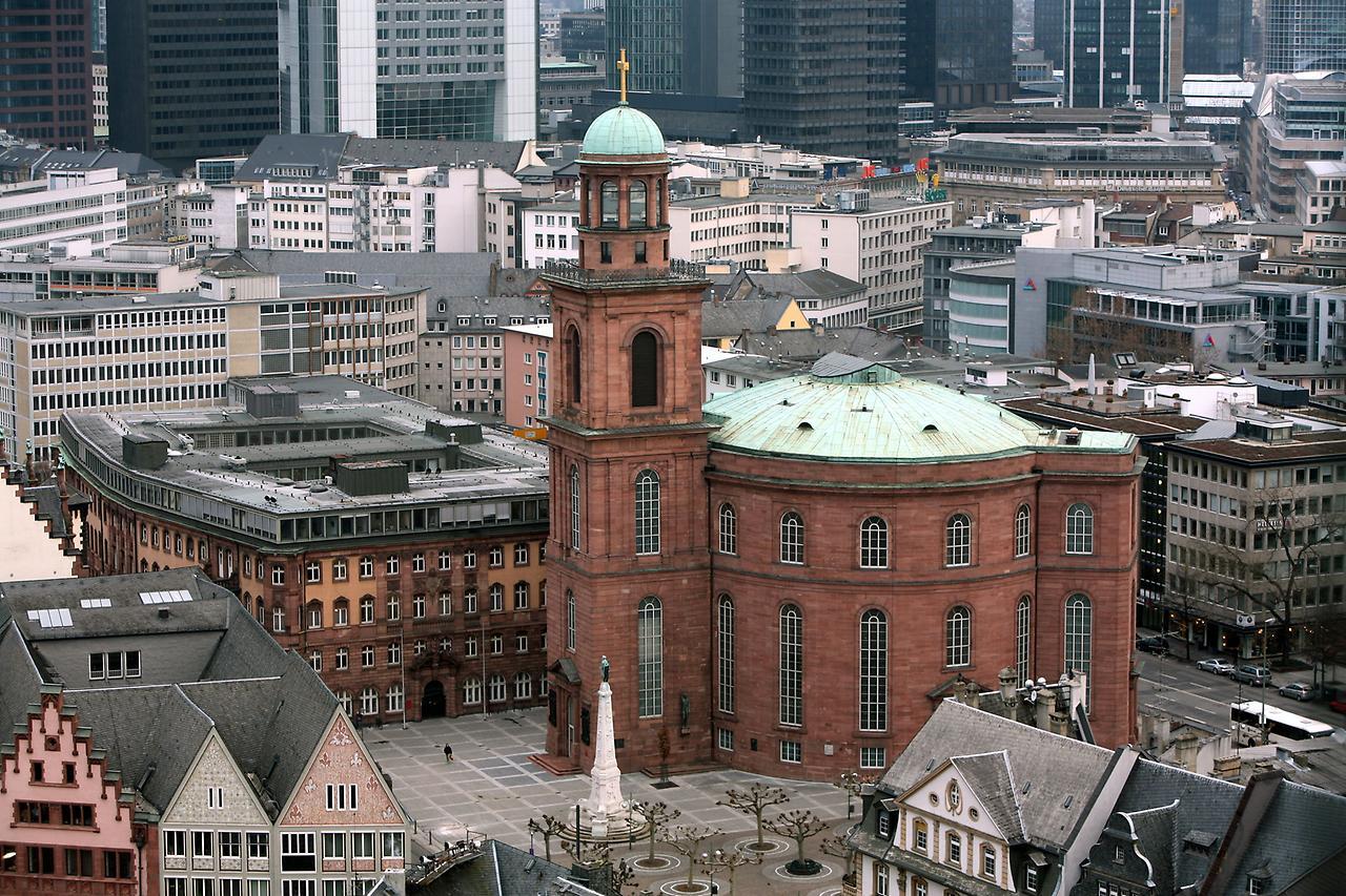 церковь святого павла франкфурт-на-майне