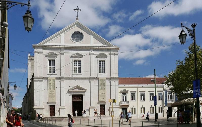 церковь святого роха лиссабон