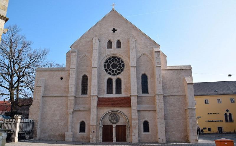 церковь святого ульриха в регенсбурге
