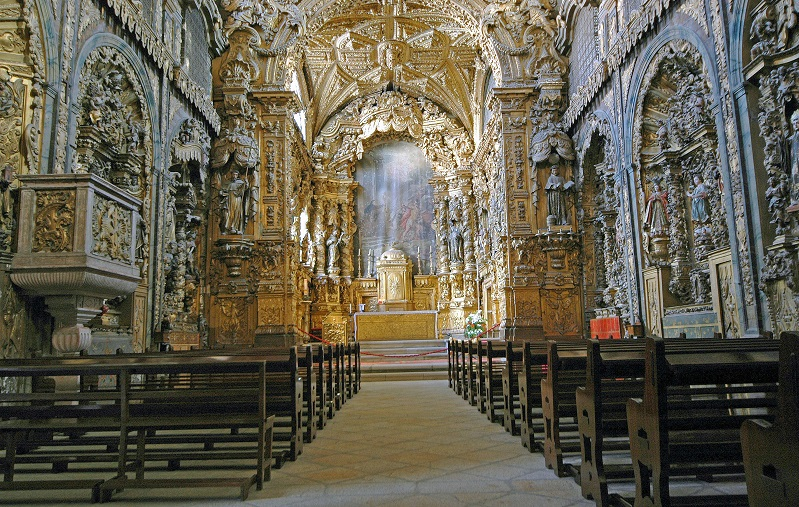 церковь святой клары порту