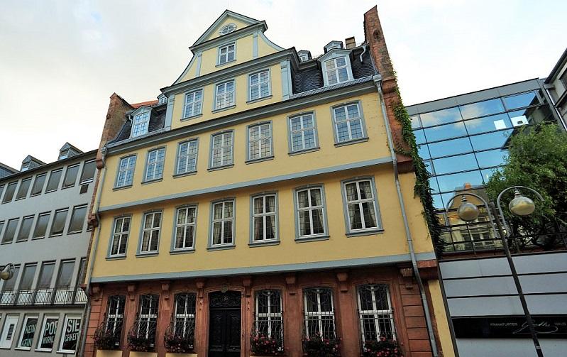 дом гёте франкфурт-на-майне
