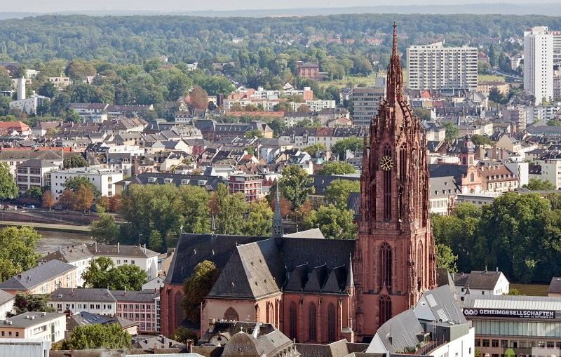 франкфуртский собор франкфурт-на-майне