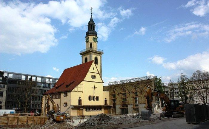 госпитальная церковь штутгарте
