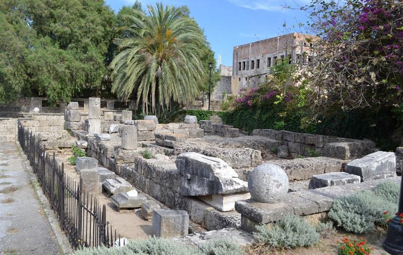 храм афродиты родос