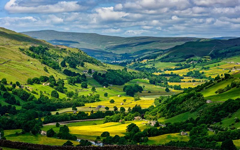 йоркширские долины англия