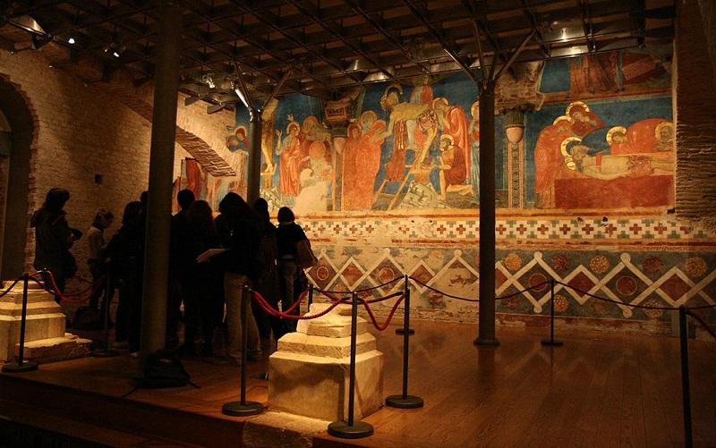 крипта собора сиена