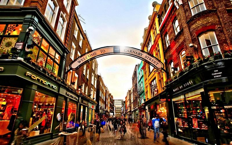 квартал сохо в лондоне