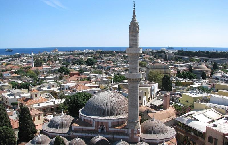 мечеть сулеймана великолепного родос