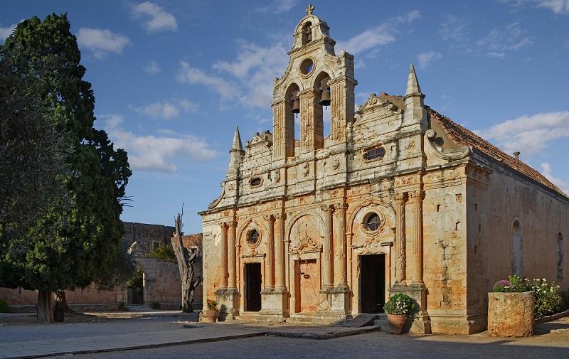 монастырь аркади крит