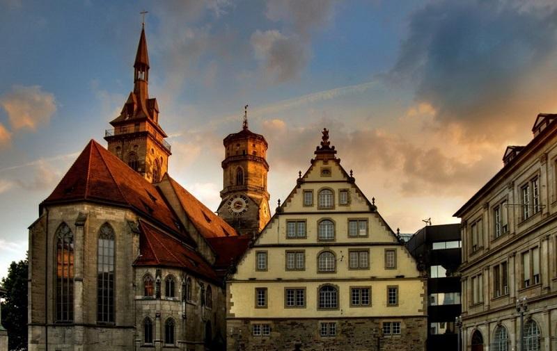 монастырская церковь штутгарта