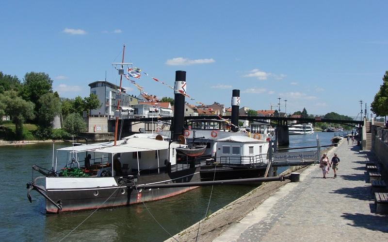 музей дунайского судоходства регенсбург