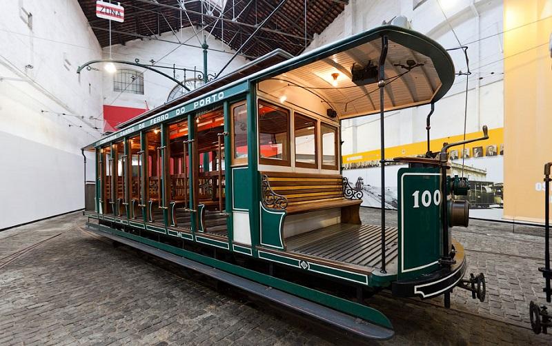 музей трамваев порту