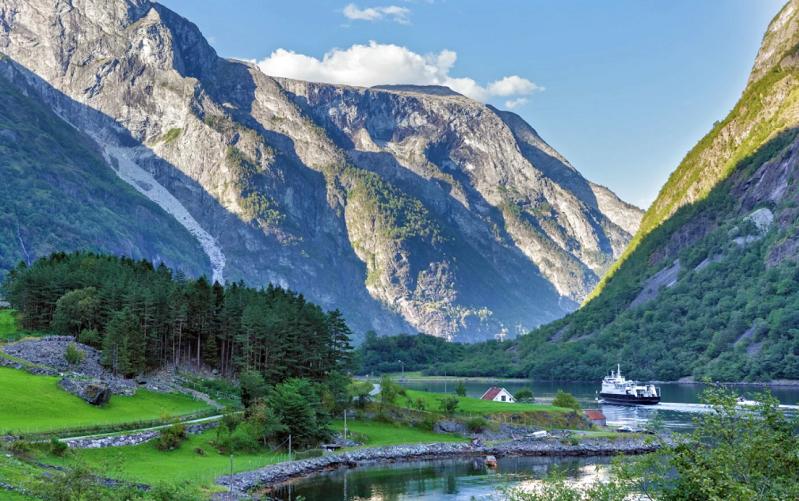 нерёй-фьорд норвегия