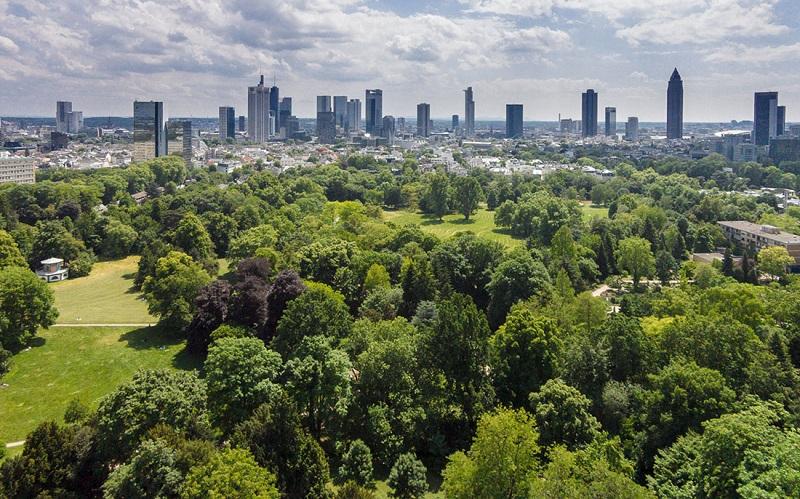 парк грюнебург во франкфурте