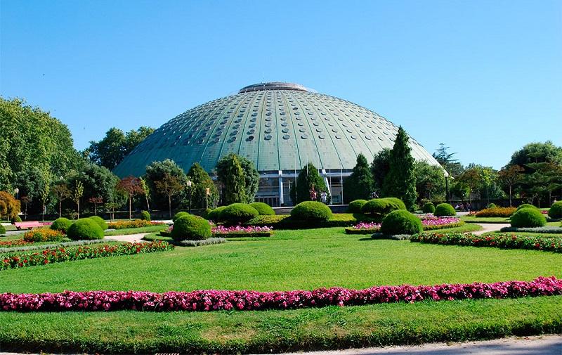 парк хрустального дворца порту