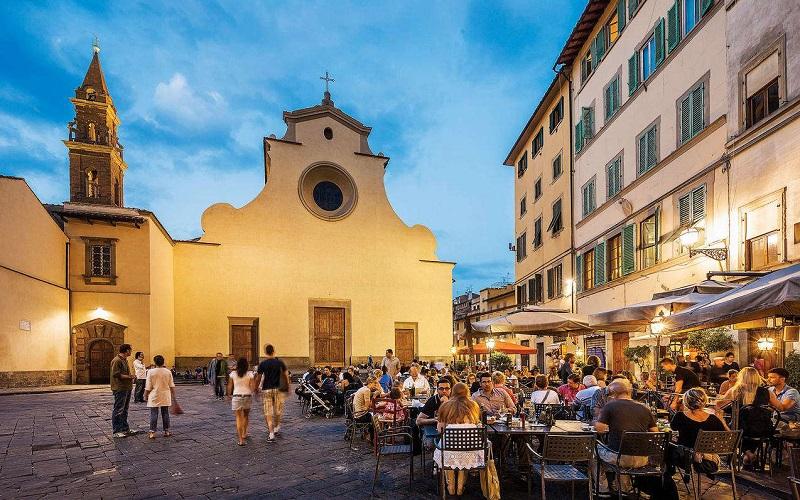 площадь санто-спирито флоренция