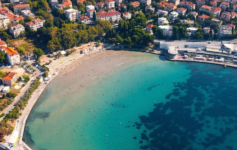 пляж бачвице хорватия