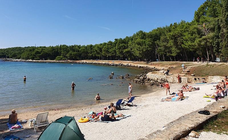 пляж куви хорватия